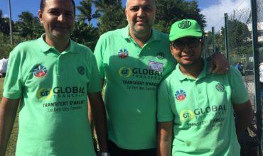 Global Transfert partenaire du Club Pétanque Addict
